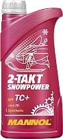 Моторное масло Mannol 2-Takt Snowpower TC+ / MN7201-1 (1л) -