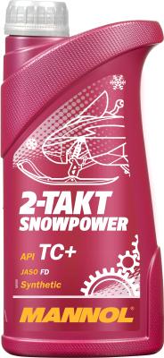 Моторное масло Mannol 2-Takt Snowpower TC+ / MN7201-1 (1л)