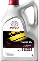 Моторное масло TOYOTA Lexus Lexus Engine Oil Synthetic 5W40 / 0888082643GO (5л) -