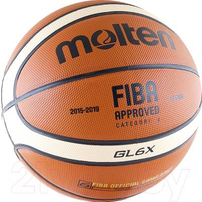 Баскетбольный мяч Molten BGL6X FIBA