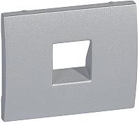 Лицевая панель для розетки Legrand Galea Life 771395 (алюминий) -