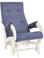 Кресло-глайдер Импэкс 708 (дуб шампань/Verona Denim Blue) -