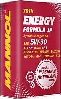 Моторное масло Mannol Energy Formula JP 5W30 API SN / MN7914-4ME (4л) -
