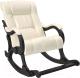 Кресло-качалка Импэкс 77 (венге/Dundi 112) -