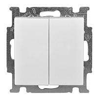 Выключатель ABB Basic 55 1012-0-2144 (белый) -