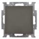 Выключатель ABB Basic 55 1012-0-2182 (шато-черный) -