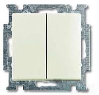 Выключатель ABB Basic 55 1012-0-2191 (шале-белый) -