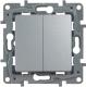 Выключатель Legrand Etika 672412 (алюминий) -