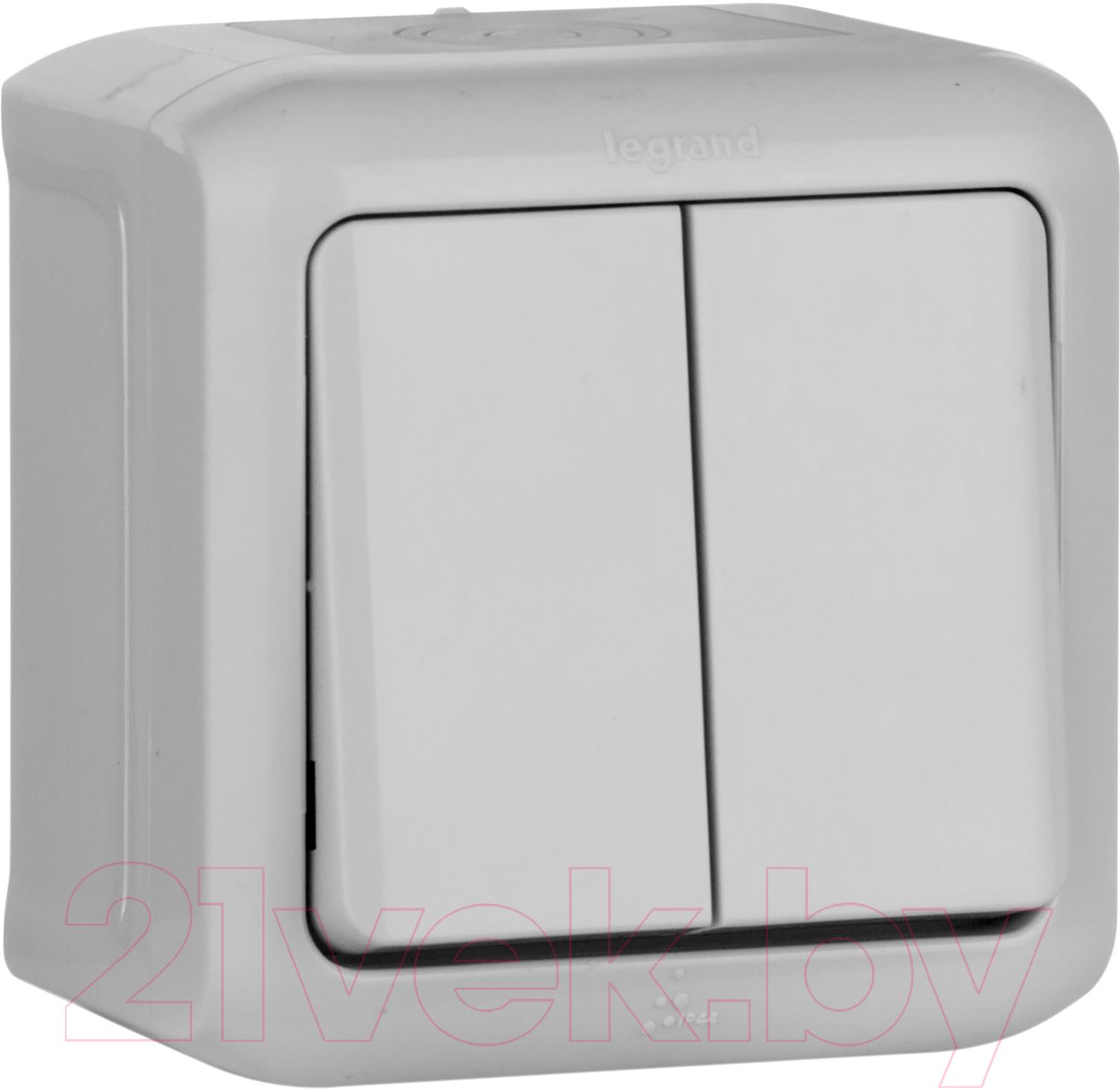 Купить Выключатель Legrand, Quteo 782331 (серый), Франция, пластик, Quteo (Legrand)