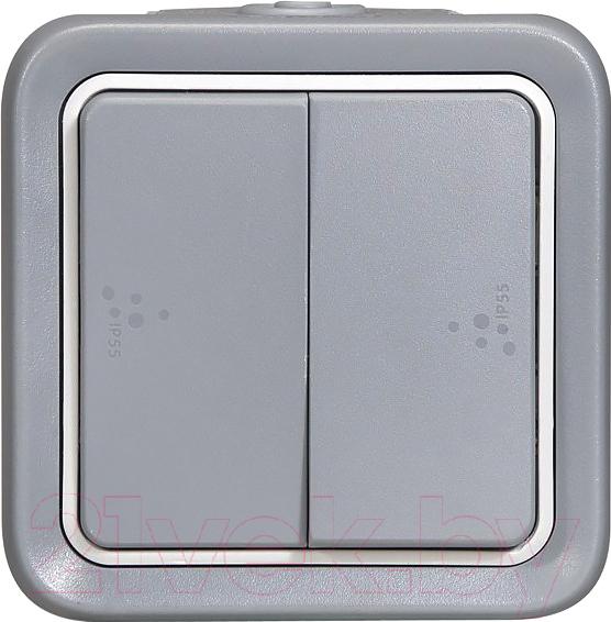Купить Выключатель Legrand, Plexo 69715 (серый), Франция, пластик, Plexo (Legrand)