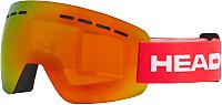 Маска горнолыжная Head Solar Fmr L Unisex Red / 394437 -