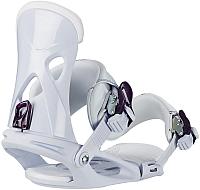 Крепления для сноуборда Head NX Fay I / 341728 (S, white) -
