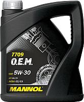 Моторное масло Mannol OEM 5W30 SM/CF / MN7709-4 (4л) -