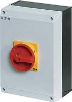 Выключатель нагрузки Eaton T0-2-1/I1/SVB ON-OFF 20А 3P / 207147 -