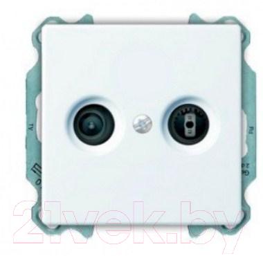 Купить Розетка ABB, Basic 55 SP610230TRIAX4, Китай, пластик, Basic 55 (ABB)