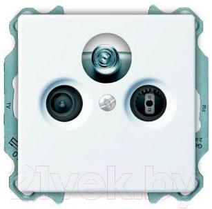 Купить Розетка ABB, Basic 55 SP610230TRIAX1S, Китай, пластик, Basic 55 (ABB)