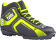 Ботинки для беговых лыж TREK Omni 1 SNS (черный/лайм, р-р 33) -