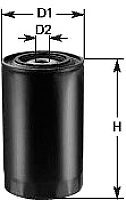 Топливный фильтр Clean Filters DN235 -