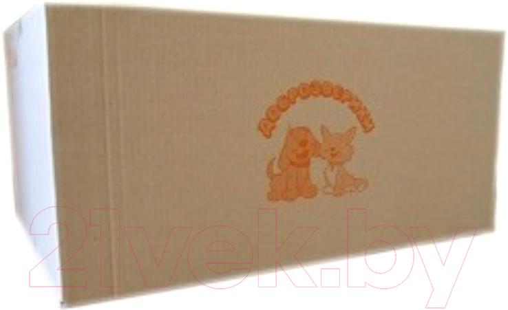 Купить Одноразовая пеленка для животных Доброзверики, 60x40 / П60х40/200 (200шт), Россия