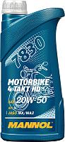 Моторное масло Mannol 4-Takt Motorbike HD 20W50 / MN7830-1 (1л) -