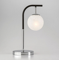 Прикроватная лампа Евросвет Globe 01039/1 (хром/черный) -