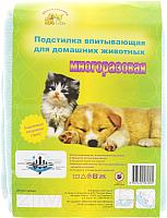 Многоразовая пеленка для животных Доброзверики 60x95 / П60х95 -