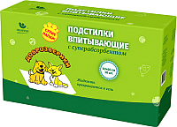 Одноразовая пеленка для животных Доброзверики Super 60x60 / ДЗ6060С (30шт) -