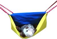 Лежак для грызунов Доброзверики Двухуровневый (M) -