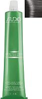 Крем-краска для волос Kapous Studio Professional с женьшенем и рисовыми протеинами 01 (усилитель пепельный) -