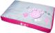 Матрас для животных Rogz Spice Pod Flat / RFPMCA (M, Pink Paw) -