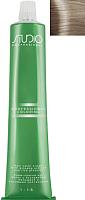 Крем-краска для волос Kapous Studio Professional с женьшенем и рисовыми протеинами 10.1 (пепельный платиновый) -
