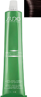 Крем-краска для волос Kapous Studio Professional с женьшенем и рисовыми протеинами 4.4 (медно-коричневый) -