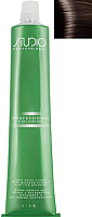 Крем-краска для волос Kapous Studio Professional с женьшенем и рисовыми протеинами 5.81 (светлый коричнево-пепельный) -