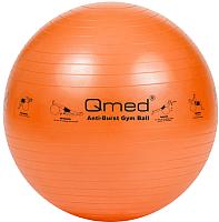 Фитбол гладкий Qmed ABS Gym Ball 25см (оранжевый) -