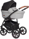 Детская универсальная коляска Riko Basic 2 в 1 (02/grey fox) -