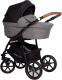 Детская универсальная коляска Riko Basic 2 в 1 (01/antracite) -
