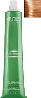 Крем-краска для волос Kapous Studio Professional с женьшенем и рисовыми протеинами 7.04 (розовый блонд) -