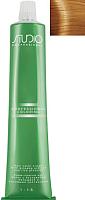 Крем-краска для волос Kapous Studio Professional с женьшенем и рисовыми протеинами 7.33 (интенсивный золотистый блонд) -