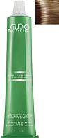 Крем-краска для волос Kapous Studio Professional с женьшенем и рисовыми протеинами 8.0 (светлый блонд) -