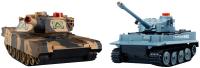 Радиоуправляемая игрушка Huan Qi Танковый бой Tiger vs Leopard (508С) -