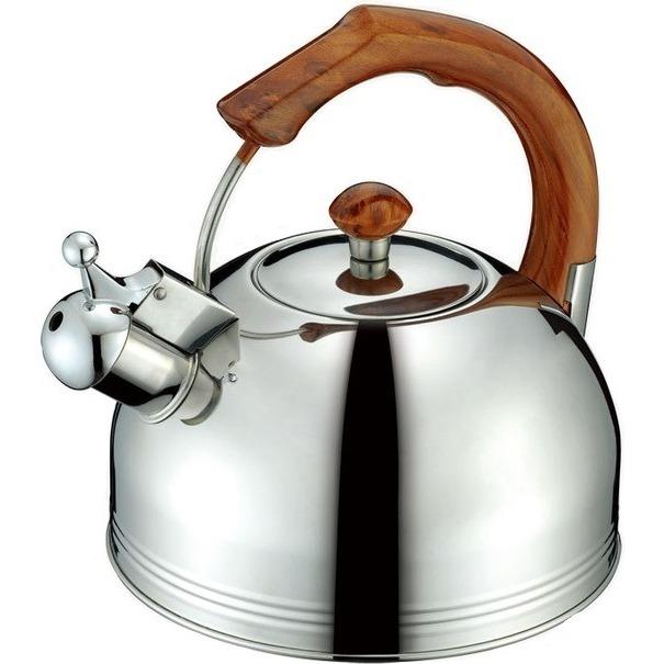 Купить Чайник со свистком Peterhof, SN-1425, Китай, нержавеющая сталь