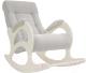 Кресло-качалка Импэкс 44 (венге без лозы/Verona Light Grey) -