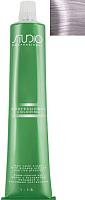 Крем-краска для волос Kapous Studio Professional с женьшенем и рисовыми протеинами 911 (ультра-светлый серебристый пепельный блонд) -