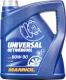 Трансмиссионное масло Mannol Universal 80W90 GL-4 / MN8107-4 (4л) -