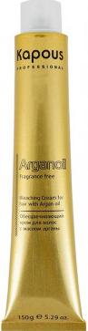 Купить Крем для обесцвечивания волос Kapous, Arganoil с маслом арганы 899 (150г), Италия, блонд