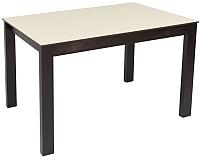 Обеденный стол Импэкс Leset Делавэр 1Р (венге/капучино) -