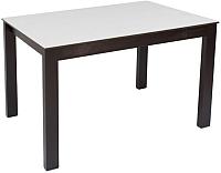 Обеденный стол Импэкс Leset Делавэр 2Р (венге/белый) -