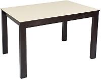 Обеденный стол Импэкс Leset Делавэр 2Р (венге/капучино) -