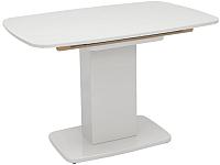 Обеденный стол Импэкс Leset Денвер 1Р (белый лак) -