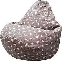 Бескаркасное кресло Flagman Груша Макси Г2.5-109 (liverpool star 09) -
